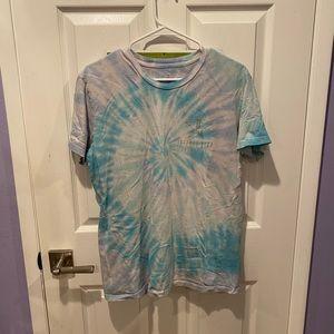 Jeffree Star Blue Tie Dye Tee Shirt!